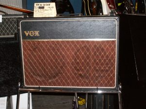 The Vox AC30 amplifier